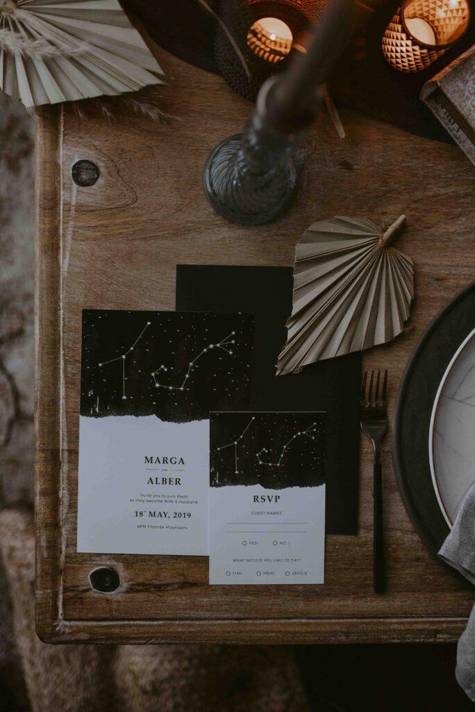 Invitaciones de estrellas