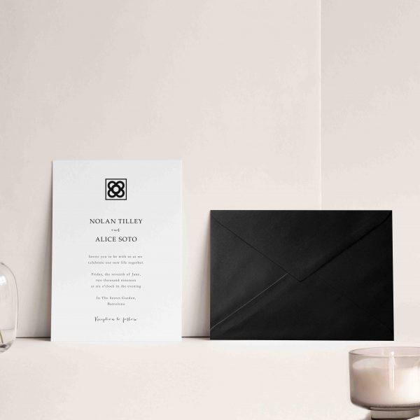 invitaciones de boda baldosa barcelona