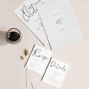 invitaciones de boda diseños elegantes