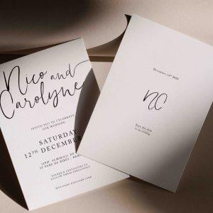 Invitaciones de boda super elegantes