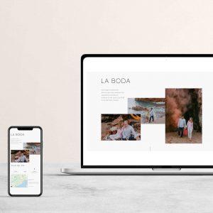 Cómo crear una página web para tu boda