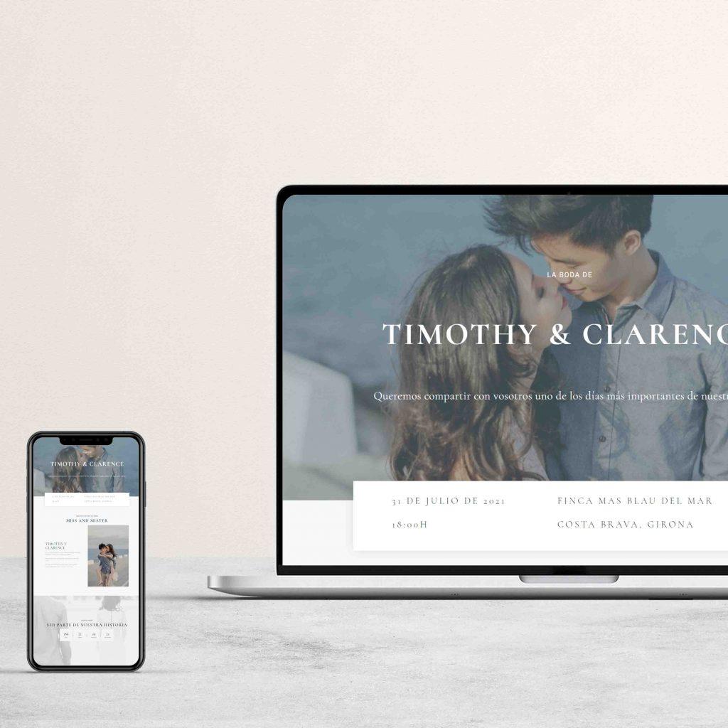 pagina web de mi boda