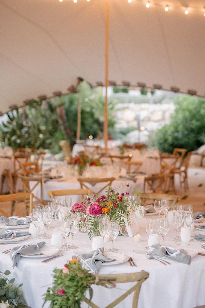 fotos decoración de bodas sencillas